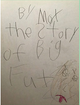 The Story of Big Footby Moxie A.