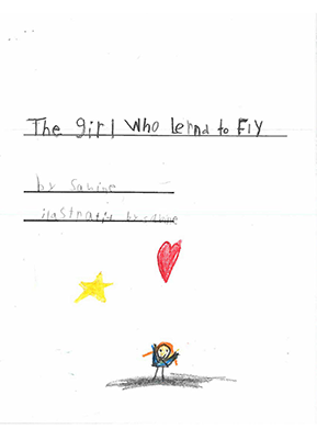 The Girl Who Learned to Flyby Sabine B.
