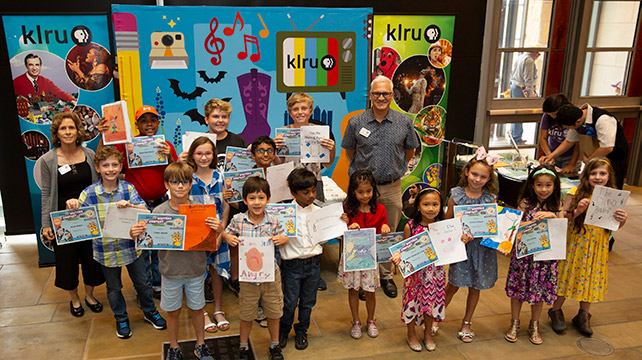 2019 KLRU Writers Contest winners at Austin Public Library