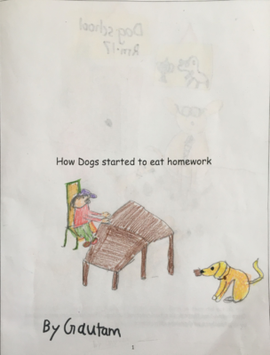 How Dogs Started to Eat Homework by Gautam T.