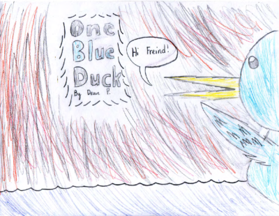 One Blue Duck by Dean P.