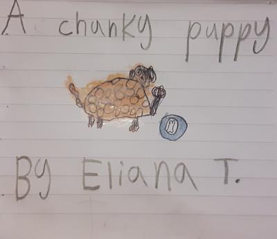 A Chunky Puppy by Eliana T.