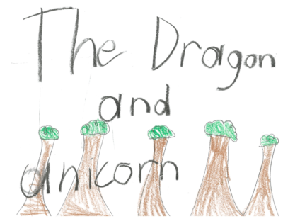 The Dragon and Unicorn by Kaelyn S.