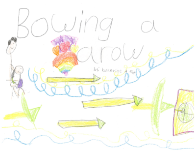 Bowing an Arrow by Katherine F.