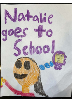 Natalie Goes to School by Mira D.