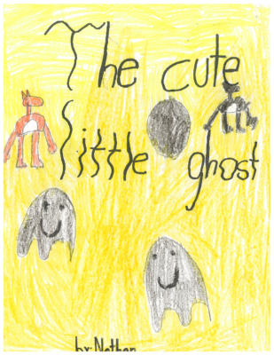 The Cute Little Ghost by Nathan Mc.