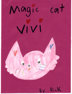 Magic Cat Vivi by Rick C.