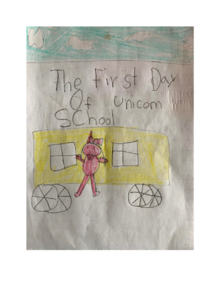The First Day of Unicorn School by Sneha G.