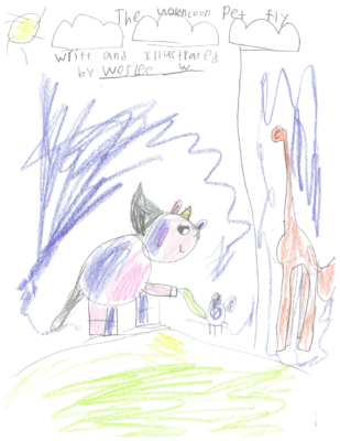 The Unicorn Pet Fly by Weslee W.