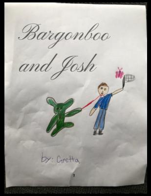 Bargonboo and Josh by Gretta D.