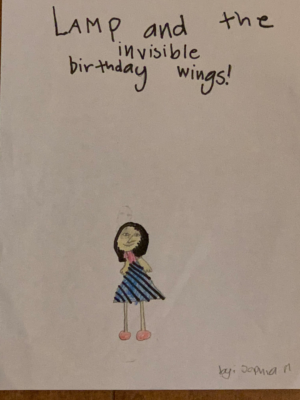 Lamp and the Invisible Birthday Wings! by Sophia M.