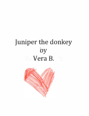 Juniper the Donkey by Vera B.