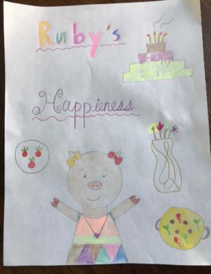 Ruby's Happiness byRuozhen M.