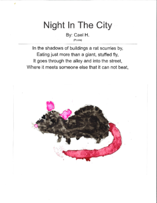 Night in the City by Cael H.