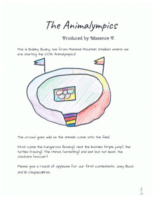 The Animalympics by Max F.