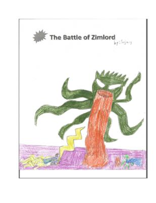 The Battle of Zimlord by Sujaykiran A.