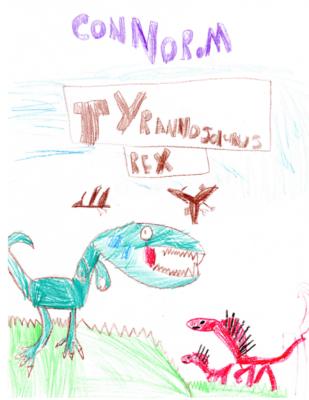 Tyrannosaurus Rex by Connor M.