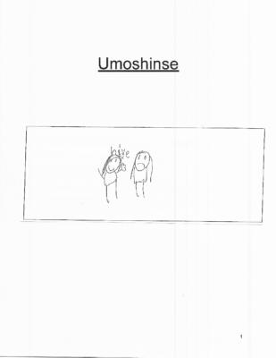 Umoshinse by Olivia M.
