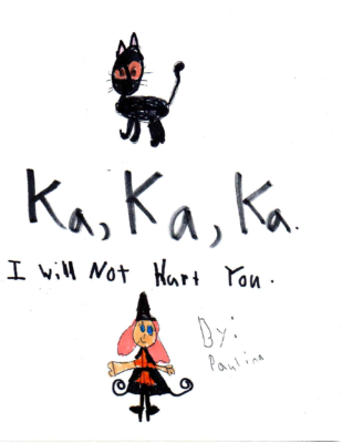 Ka, Ka, Ka: I Will Not Hurt You by Paulina W.