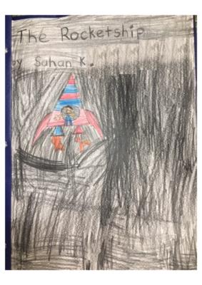 The Rocketship by Sahan K.