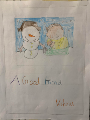 A Good Friend by Vishnu A.