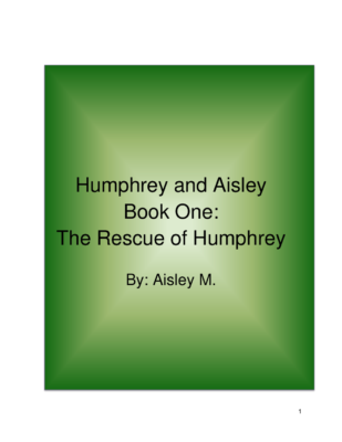 Humphrey and Aisley by Aisley M.