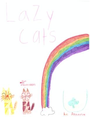 Lazy Cats by Ayaana K.
