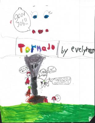 Tornado! by Evelyn C.