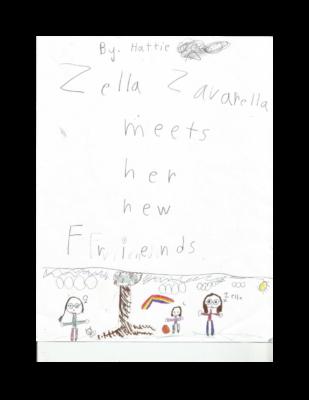 Zella Zaverella Makes a New Friend by Hattie L.