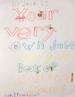 Your Very Own Just For YouComical Book of Poems by Jack T.