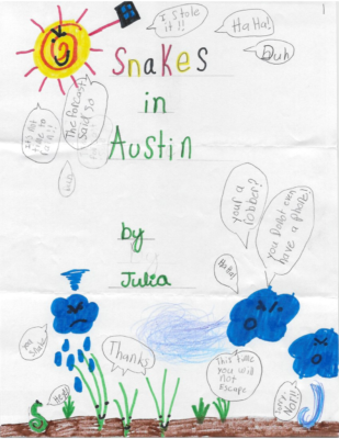 Snakes in Austin  by Julia P.