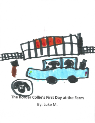 The Border Collie's First Dayat the Farm by Luke M.