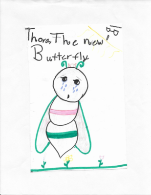 Thora, Our New Butterfly by Noella B.