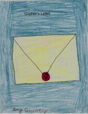 Gopher's Letter  by Quincy R.