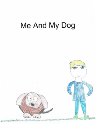 Me and My Dog by Asmi G.