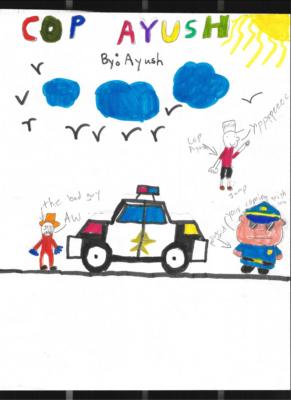 Cop Ayush by Ayush R.