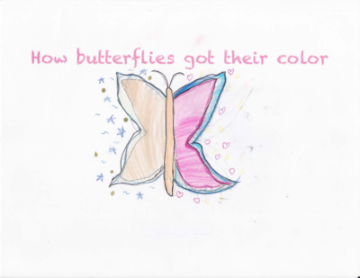 How Butterflies Got Their Color by Yunseo C.