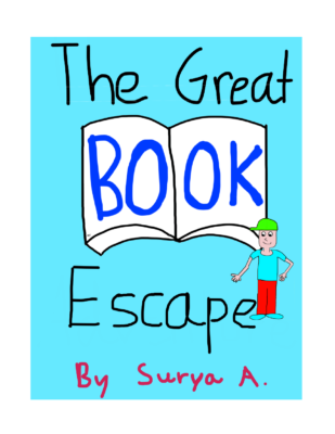 The Great Book Escape by Surya A.