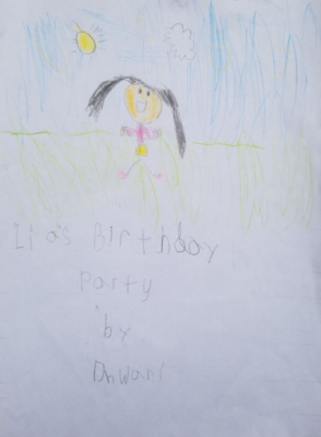 Lia's Birthday Party by Dhwani S.